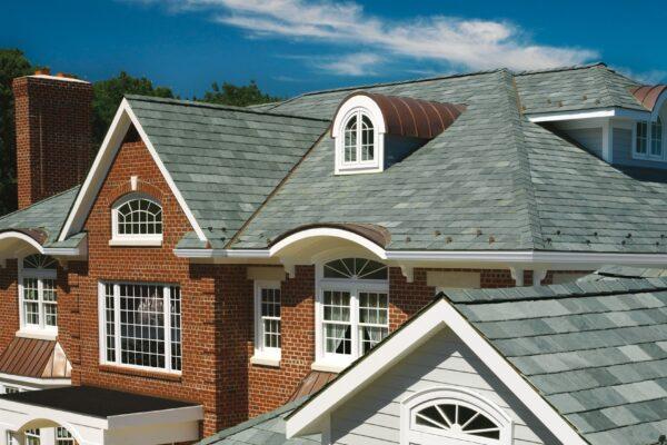 Slate roofers near me - TruSlate Mystic Grey House