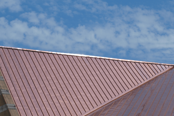 Custom copper and sheet metal roofing