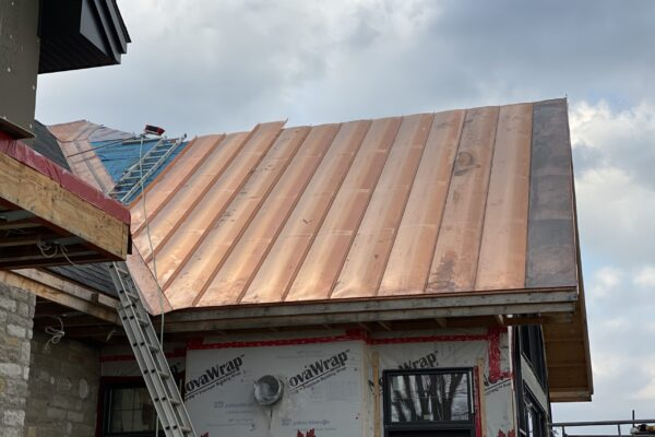 Copper roofing installers Quebec