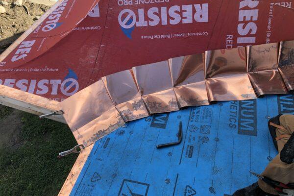 Copper roofing installers - Metal Roof