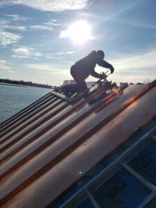 Metal roofing Quebec