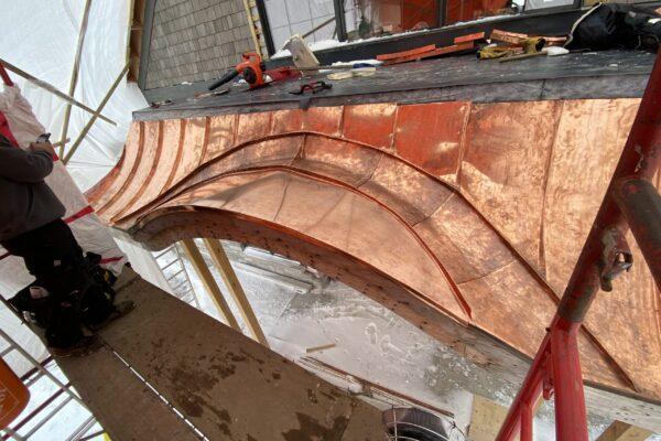 Local copper roof contractors - metal roofing
