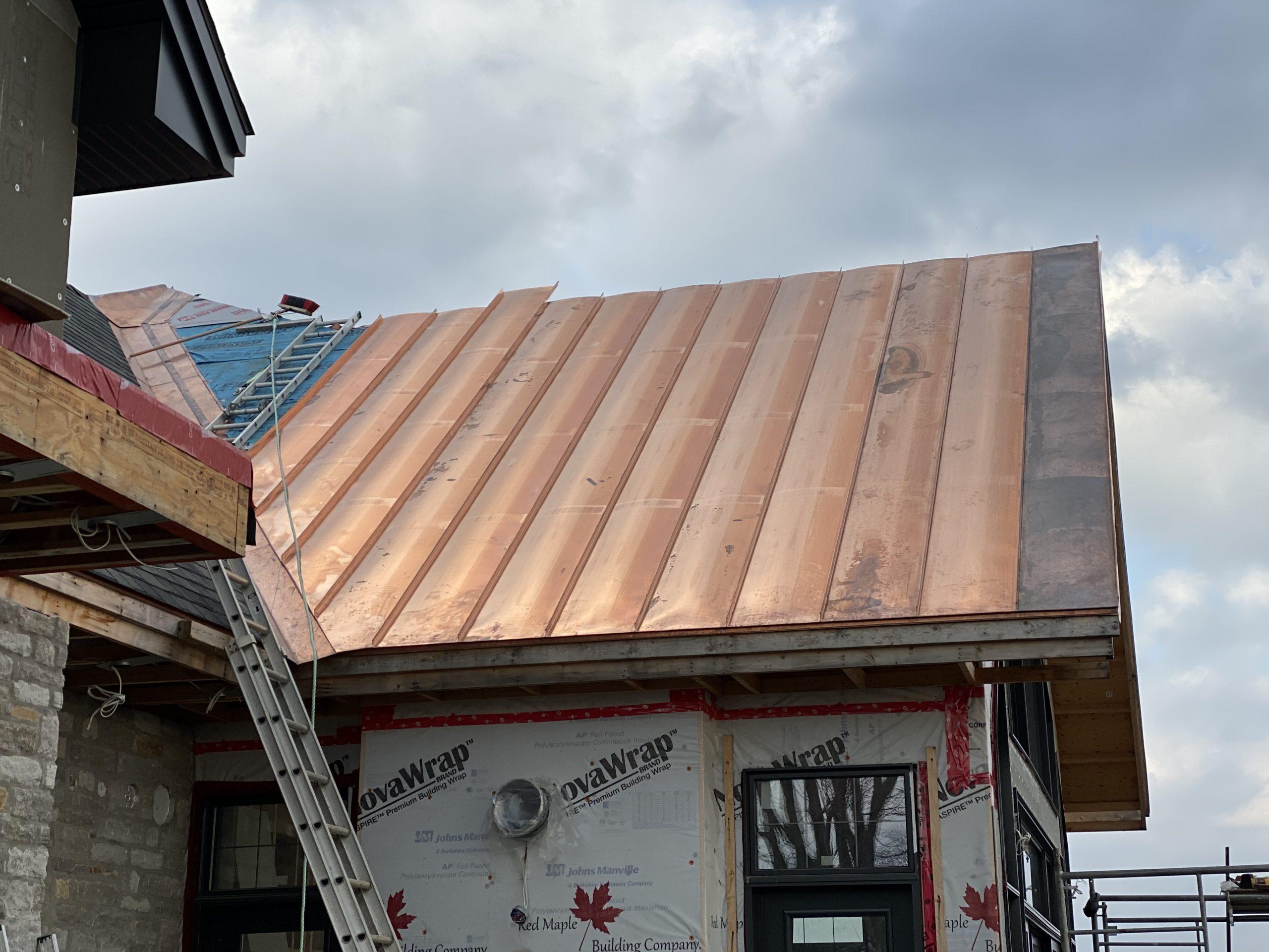 Copper Roofing Quebec