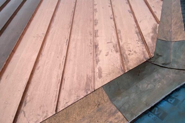 Copper roofing Quebec - Metal roof