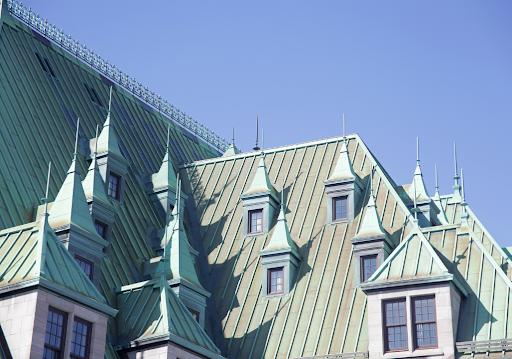 Copper Roofs Change Color